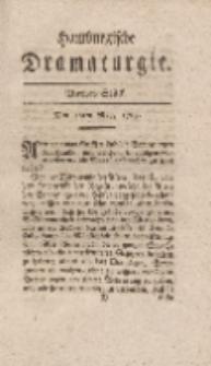 Hamburgische Dramaturgie, Erster Band, Viertes Stück, den 12ten May, 1767