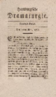Hamburgische Dramaturgie, Erster Band, Fünftes Stück, den 15ten May, 1767