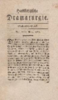 Hamburgische Dramaturgie, Erster Band, Siebendes Stück, den 22sten May, 1767