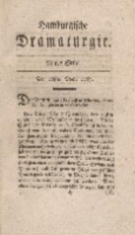Hamburgische Dramaturgie, Erster Band, Achtes Stück, den 26sten May, 1767