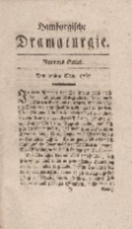 Hamburgische Dramaturgie, Erster Band, Neuntes Stück, den 29sten May, 1767