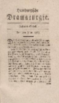 Hamburgische Dramaturgie, Erster Band, Zehntes Stück, den 2ten Juny, 1767