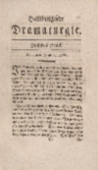 Hamburgische Dramaturgie, Erster Band, Zwölftes Stück, den 9ten Junius, 1767