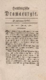 Hamburgische Dramaturgie, Erster Band, Dreyzehntes Stück, den 12ten Junius, 1767