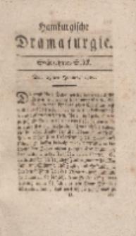 Hamburgische Dramaturgie, Erster Band, Sechszehntes Stück, den 23sten Junius, 1767