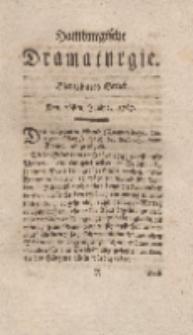 Hamburgische Dramaturgie, Erster Band, Siebzehntes Stück, den 26sten Junius, 1767