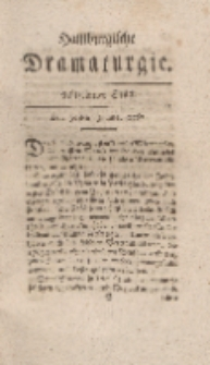Hamburgische Dramaturgie, Erster Band, Achtzehntes Stück, den 30sten Junius, 1767