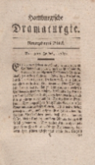 Hamburgische Dramaturgie, Erster Band, Neunzehntes Stück, den 3ten Julius, 1767