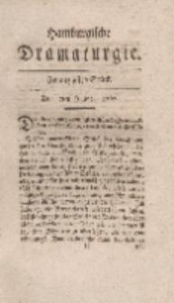 Hamburgische Dramaturgie, Erster Band, Zwanzigstes Stück, den 7ten Julius, 1767