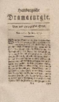 Hamburgische Dramaturgie, Erster Band, Vier und zwanzigstes Stück, den 21sten Julius, 1767