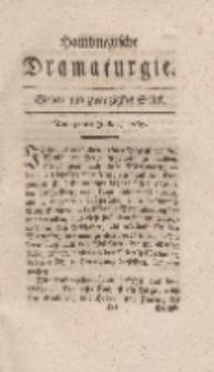 Hamburgische Dramaturgie, Erster Band, Sieben und zwanzigstes Stück, den 31sten Julius, 1767