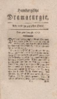 Hamburgische Dramaturgie, Erster Band, Acht und zwanzigstes Stück, den 4ten August, 1767