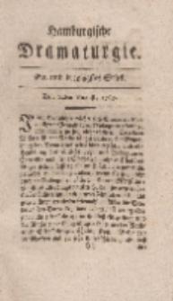 Hamburgische Dramaturgie, Erster Band, Ein und dreytzigstes Stück, den14ten August, 1767