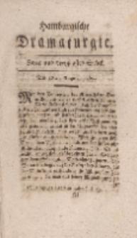 Hamburgische Dramaturgie, Erster Band,Zwey und dreytzigstes Stück, den18ten August, 1767