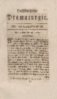 Hamburgische Dramaturgie, Erster Band, Vier und dreytzigstes Stück, den 25sten August, 1767