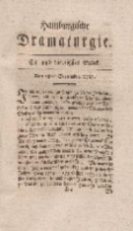 Hamburgische Dramaturgie, Erster Band, Ein und vierzigstes Stück, den 18ten September, 1767