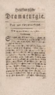 Hamburgische Dramaturgie, Erster Band, Drey und vierzigstes Stück, den 25sten September, 1767