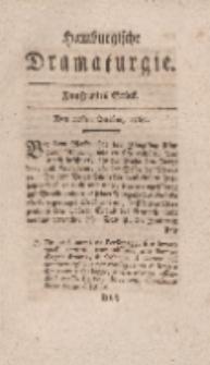 Hamburgische Dramaturgie, Erster Band, Funfzigstes Stück, den 20sten October, 1767