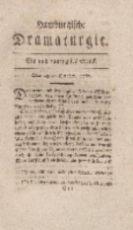 Hamburgische Dramaturgie, Erster Band, Ein und funfzigstes Stück, den 23sten October, 1767