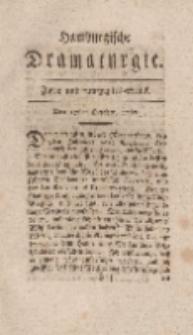 Hamburgische Dramaturgie, Erster Band, Zwey und funfzigstes Stück, den 27sten October, 1767