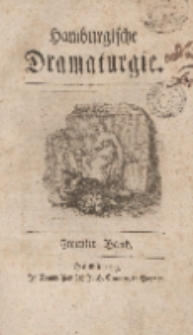 Hamburgische Dramaturgie, Zweyter Band, Drey und Funfzigstes Stück, den 3ten November, 1767