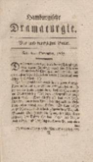 Hamburgische Dramaturgie, Zweyter Band, Vier und funfzigstes Stück, den 6ten November, 1767