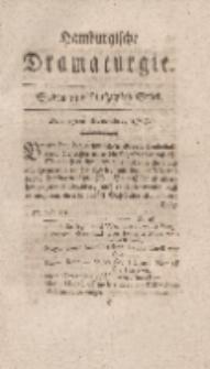 Hamburgische Dramaturgie, Zweyter Band, Sieben und funfzigstes Stück, den 17ten November, 1767