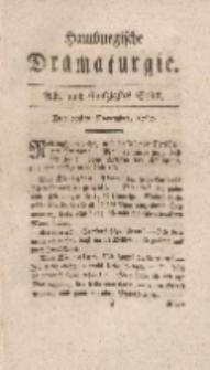 Hamburgische Dramaturgie, Zweyter Band, Acht und funfzigstes Stück, den 20sten November, 1767