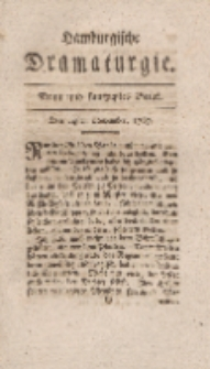 Hamburgische Dramaturgie, Zweyter Band, Neun und funfzigstes Stück, den 24sten November, 1767