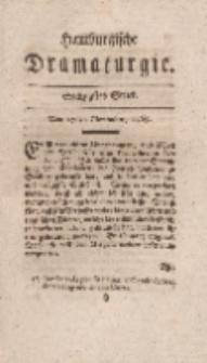 Hamburgische Dramaturgie, Zweyter Band, Sechzigstes Stück, den 27sten November, 1767