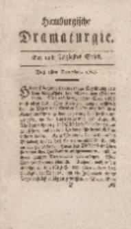 Hamburgische Dramaturgie, Zweyter Band, Ein und sechzigstes Stück, den 1sten December, 1767