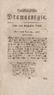 Hamburgische Dramaturgie, Zweyter Band, Vier und sechzigstes Stück, den 11ten December, 1767