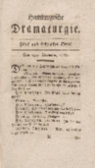 Hamburgische Dramaturgie, Zweyter Band, Fünf und sechzigstes Stück, den 15ten December, 1767