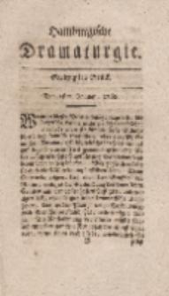 Hamburgische Dramaturgie, Zweyter Band, Siebzigstes Stück, den 1sten Januar, 1768