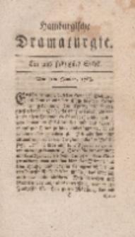 Hamburgische Dramaturgie, Zweyter Band, Ein und siebzigstes Stück, den 5ten Januar, 1768