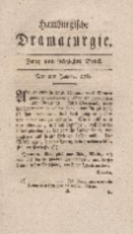 Hamburgische Dramaturgie, Zweyter Band, Zwey und siebzigstes Stück, den 8ten Januar, 1768