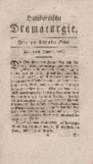 Hamburgische Dramaturgie, Zweyter Band, Drey und siebzigstes Stück, den 12ten Januar, 1768