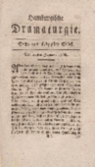 Hamburgische Dramaturgie, Zweyter Band, Sechs und siebzigstes Stück, den 22sten Januar, 1768