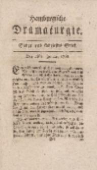 Hamburgische Dramaturgie, Zweyter Band, Sieben und siebzigstes Stück, den 26sten Januar, 1768