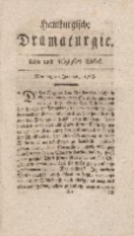 Hamburgische Dramaturgie, Zweyter Band, Acht und siebzigstes Stück, den 29sten Januar, 1768