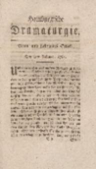 Hamburgische Dramaturgie, Zweyter Band, Neun und siebzigstes Stück, den 2ten Februar, 1768