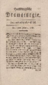 Hamburgische Dramaturgie, Zweyter Band, Vier und achtzigstes Stück, den 19ten Februar, 1768