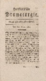 Hamburgische Dramaturgie, Zweyter Band, Neun und achtzigstes Stück, den 8ten Merz, 1768