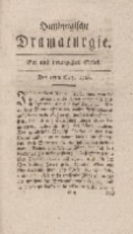 Hamburgische Dramaturgie, Zweyter Band, Ein und neunzigstes Stück, den 15ten Merz, 1768