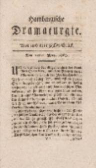 Hamburgische Dramaturgie, Zweyter Band, Vier und neunzigstes Stück, den 25sten Merz, 1768