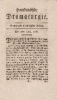 Hamburgische Dramaturgie, Zweyter Band,Sechs und neunzigstes Stück, den 1sten April, 1768