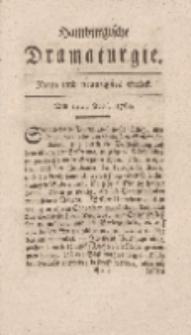 Hamburgische Dramaturgie, Zweyter Band, Neun und neunzigstes Stück, den 12ten April, 1768