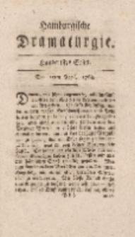 Hamburgische Dramaturgie, Zweyter Band, Hundertstes Stück, den 15ten April, 1768
