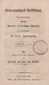 Gemeinnütziges Volksblatt, Januar 1800