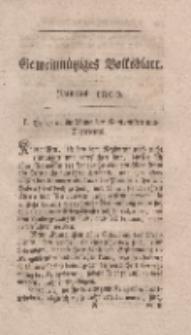 Gemeinnütziges Volksblatt, Junius 1800